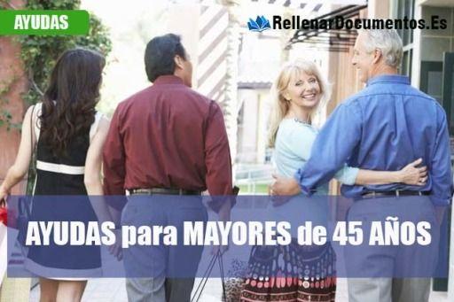 Subsidio para personas mayores de 45 años