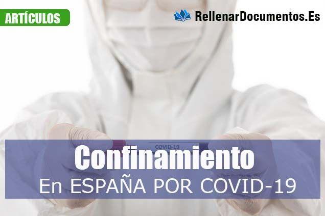 Confinamiento de España