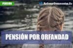 Pension por orfandad