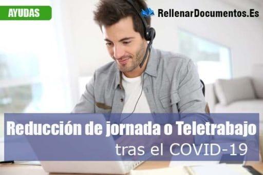 Reducción de jornada laboral por covid19