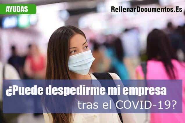 despedir por el COVID-19