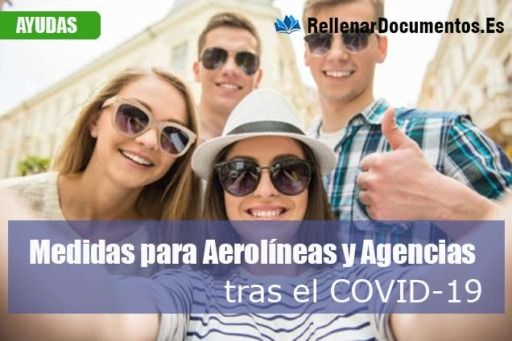 Medidas Extraordinarias para Aerolíneas y Agencias de viajes