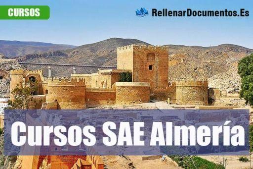cursos gratuitos del SAE en Almería