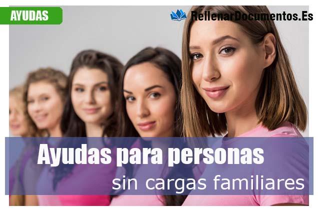 personas sin cargas familiares