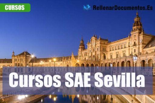 cursos gratuitos del SAE en Sevilla