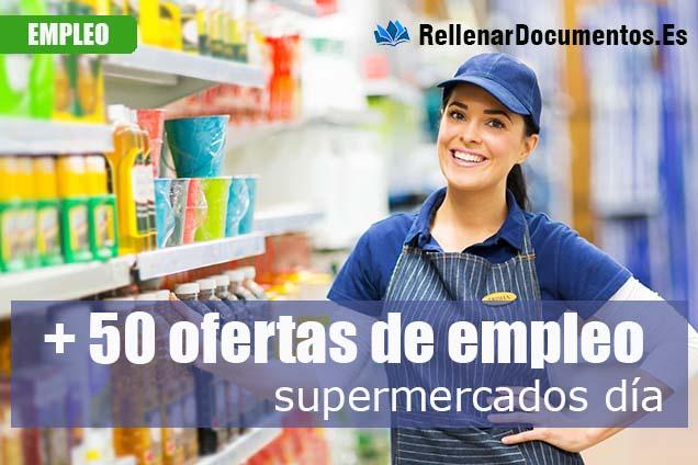 ofertas de empleo supermercados día