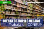 Consum oferta 5.000 puestos de trabajo