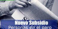 subsidios para más de 500 mil personas sin paro