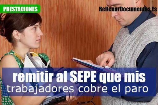 Cómo tengo qCómo tengo que remitir al SEPE la información para que mis trabajadores cobren el paroue remitir al SEPE la información para que mis trabajadores cobren el paro