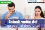 actualización del Ingreso Mínimo Vital en España