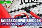 compatibles con la prestación por desempleo